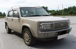 Nissan Rasheen Closed Off-Road Vehicle