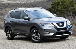 Nissan Rogue 2018 Wheel & Tire Sizes PCD fset and