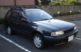 Nissan Sunny California Estate