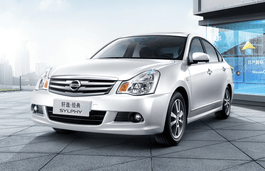 Nissan Sylphy Classic wheels and tires specs icon