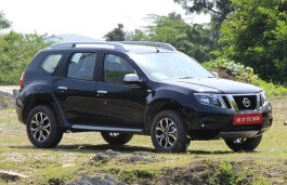 Nissan Terrano wheels and tires specs icon