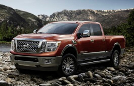 Nissan Titan XD wheels and tires specs icon