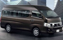 Nissan Urvan wheels and tires specs icon