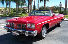 Oldsmobile 88 VII Facelift Convertible