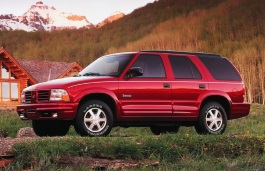 Oldsmobile Bravada II Restyling Closed Off-Road Vehicle