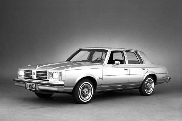 Oldsmobile Cutlass V A-body Saloon