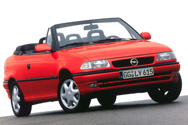 Opel Astra F (T92) Convertible