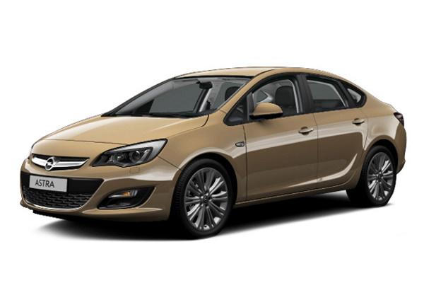 Opel Astra J Facelift Saloon