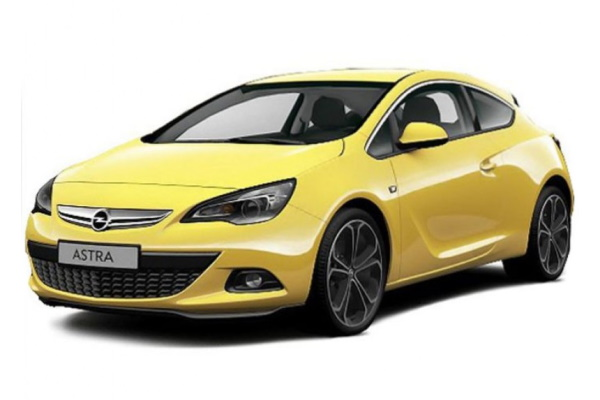 Opel Astra GTC wheels and tires specs icon