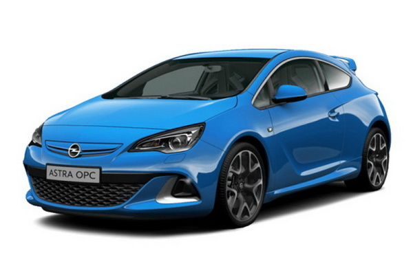 Opel Astra OPC wheels and tires specs icon