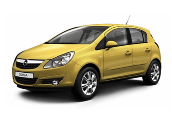 Opel Corsa wheels and tires specs icon