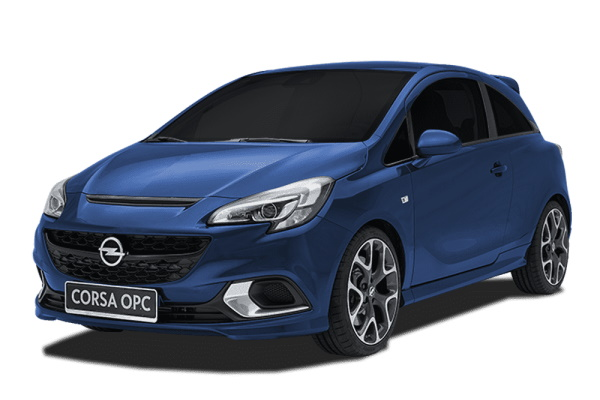 Opel Corsa OPC wheels and tires specs icon