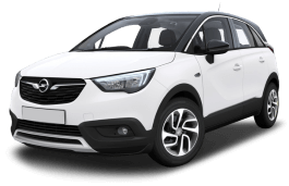Opel Crossland X wheels and tires specs icon