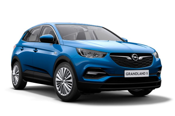 Opel Grandland X wheels and tires specs icon