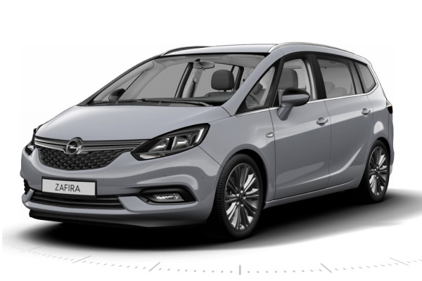 Opel Zafira wheels and tires specs icon