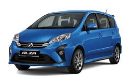Perodua Alza Facelift MPV