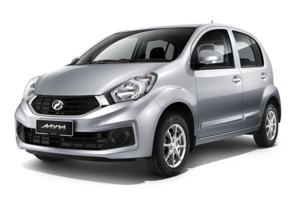 Perodua Myvi wheels and tires specs icon