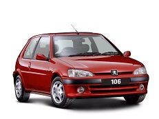 Peugeot 106 wheels and tires specs icon