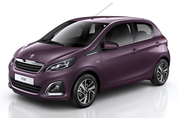 Peugeot 108 wheels and tires specs icon