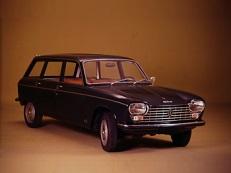 opony do Peugeot 204 Mk1 [1965 .. 1977] [EUDM] Estate, 5d