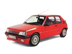 opony do Peugeot 205 I [1983 .. 1998] [EUDM] Hatchback, 3d