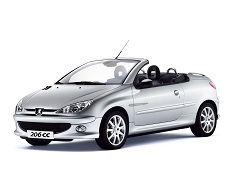 peugeot 206 - specs of wheel sizes, tires, pcd, offset and rims
