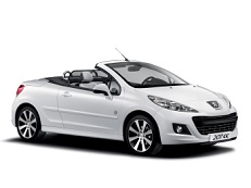 Peugeot 207 wheels and tires specs icon