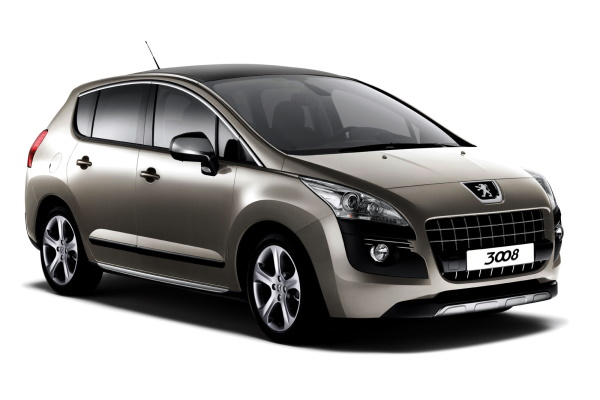 Peugeot 3008 wheels and tires specs icon