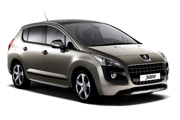 Автомобиль Peugeot 3008 PF2 , год выпуска 2009 - 2013