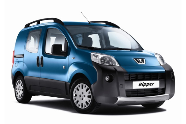 Peugeot Bipper wheels and tires specs icon