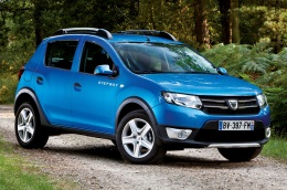 Dacia Sandero Stepway wheels and tires specs icon