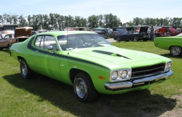 Plymouth Road Runner II Restyling Coupe
