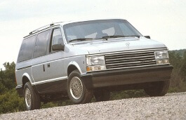 Plymouth Voyager I Facelift MPV