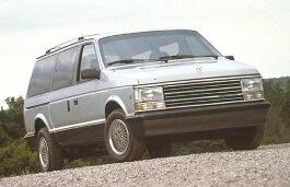 opony do Plymouth Voyager I Facelift [1987 .. 1990] MPV, 3d