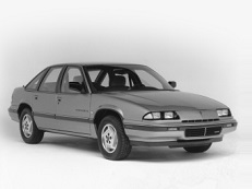 opony do Pontiac Grand Prix W-body I [1988 .. 1996] [USDM] Saloon