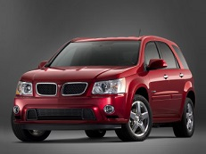 Pontiac Torrent wheels and tires specs icon