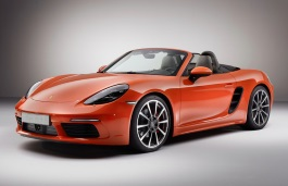 Porsche 718 Boxster picture (2016 year model)