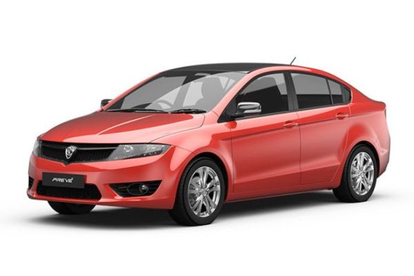 Proton Preve wheels and tires specs icon