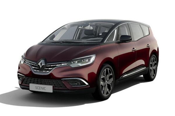 icono de especificaciones de Renault Grand Scenic  ruedas y neumáticos