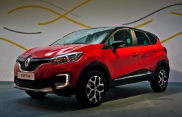Renault Kaptur Closed Off-Road Vehicle