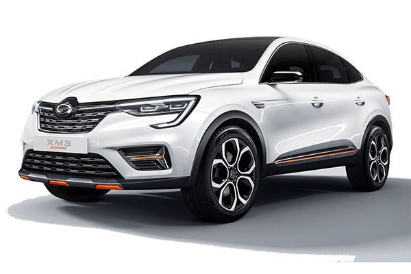 Renault Samsung XM3 wheels and tires specs icon