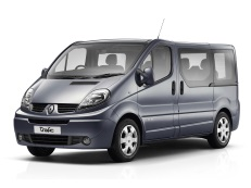Renault Trafic II (X83) facelift Bus