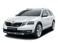 Skoda Octavia Scout wheels and tires specs icon