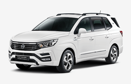 SsangYong Korando Turismo wheels and tires specs icon