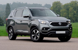 SsangYong Rexton wheels and tires specs icon