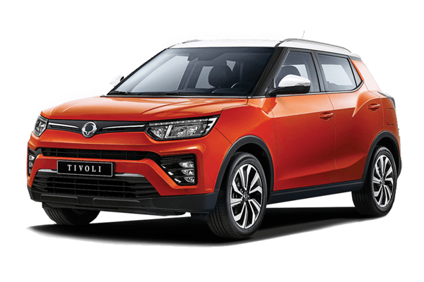SsangYong Tivoli wheels and tires specs icon