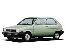 opony do Subaru Justy KA [1984 .. 1988] [JDM] Hatchback, 3d