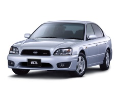 Subaru Legacy B4 wheels and tires specs icon