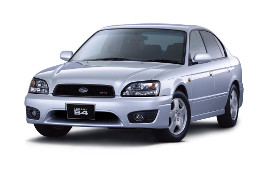 Subaru Legacy B4 BE Restyling Saloon