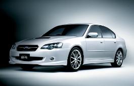 Subaru Legacy B4 BL Restyling Saloon